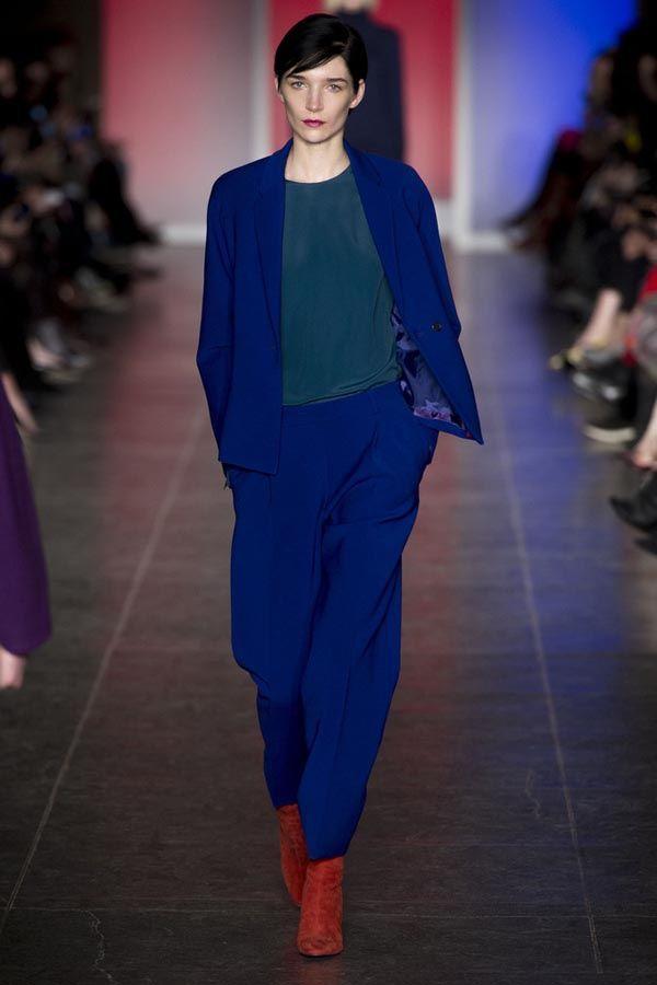 Azul, rojo y amarillo: Las claves de un look en tendencia Look de Paul Smith otoño-invierno 2013