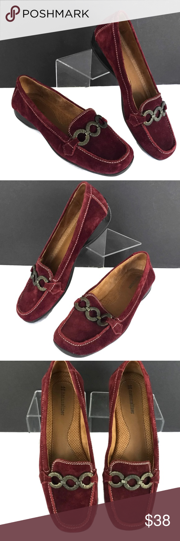 Naturalizer Loafer Women 7M Driving