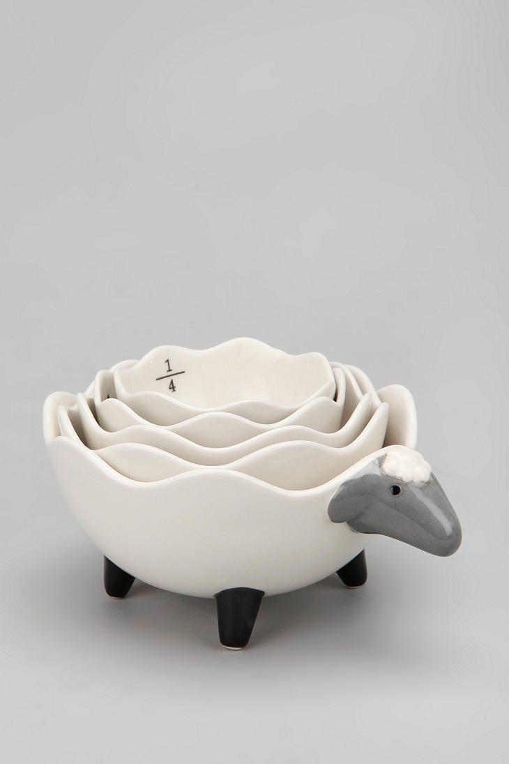 Sheep Measuring Cups: $24