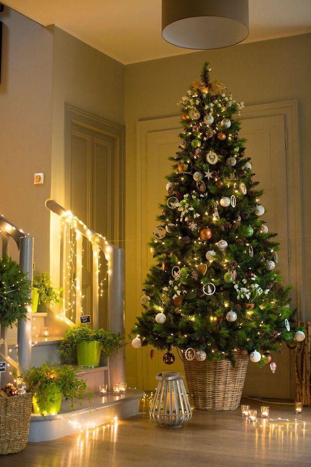Guirlande Lumineuse De Noel Pour Sapin Decoration Lumineuse Fenetre