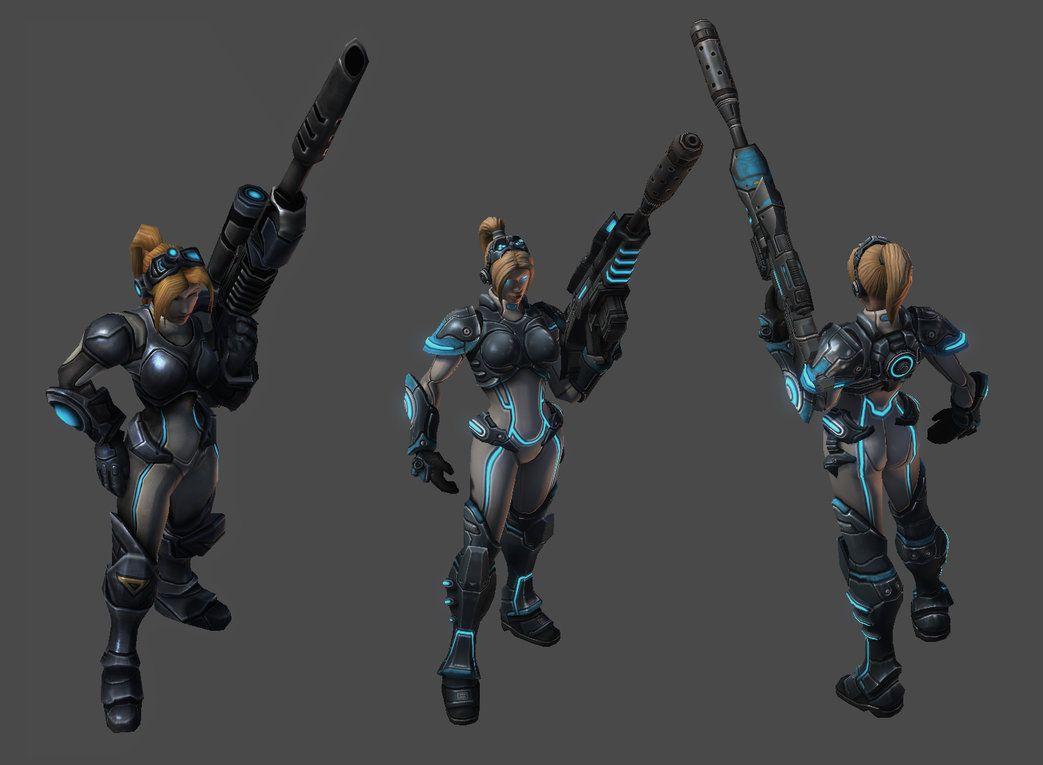 Starcraft Ghost Nova Wallpaper