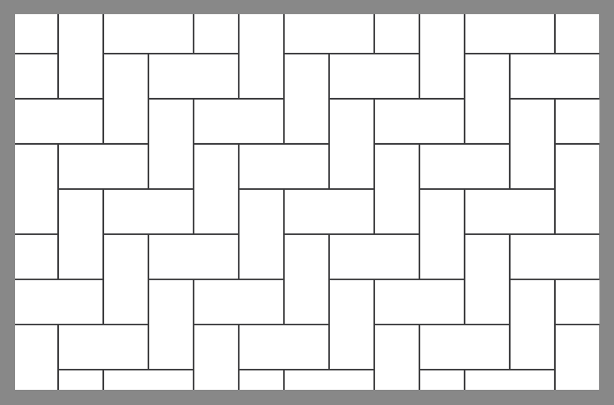 90 Degree Herringbone Brick Pattern Herringbone Brick Pattern