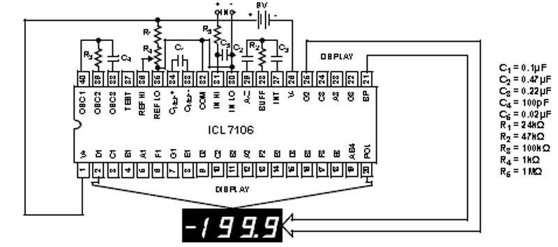Block Diagram Of 7106