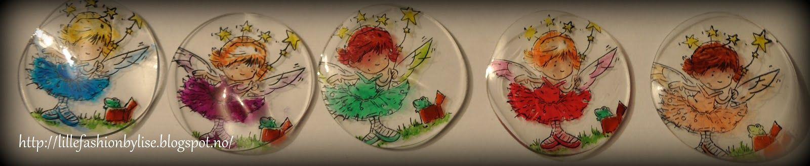 shrink plastic made into buttons    lillefashion.by.lise: Krympeplast og stempel = kule knapper