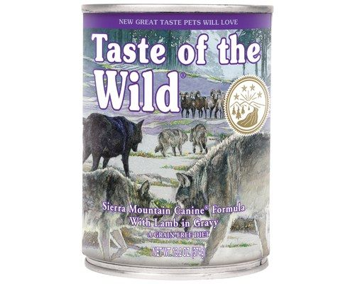 Taste Of The Wild Sierra Mountain Canine 374g Canned Dog Food