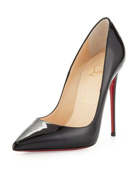 d4c1094adc2f So Kate Patent Pointed-Toe Red Sole Pump