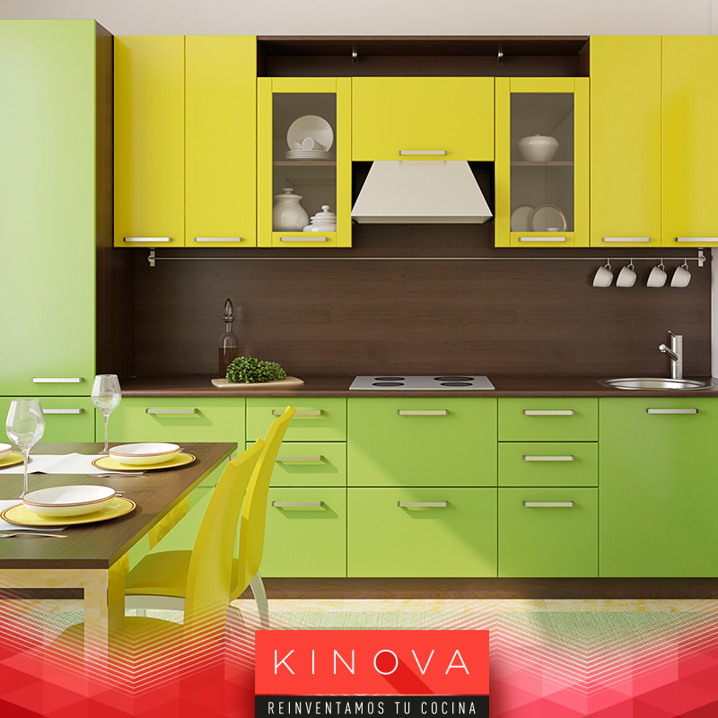 La combinación de amarillo y verde te dará un aspecto ecológico a tu ...