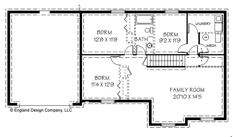 House Plans Bluprints Home Garage And Vacation Homes Home Floor Plans With Drive Under Garage Basement Floor Plans