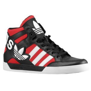 adidas originals hard court hi big logo grey