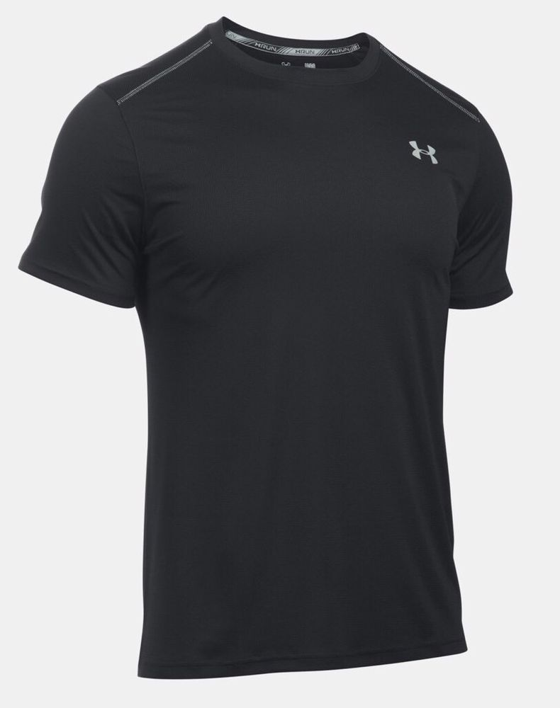 NWT Under Armour Men's UA Threadborne Siro Performance T-Shirt White XL