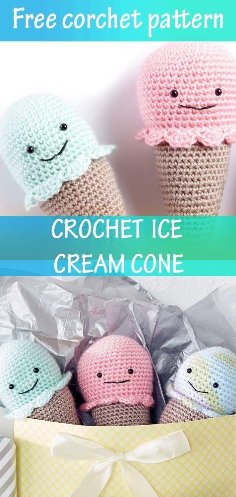 Amigurumi Ice Cream Free Pattern | 997x474
