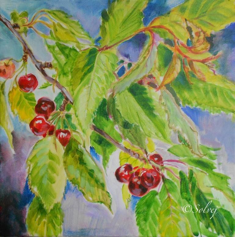 Solvej Solvej - Le cerisier 2, branche / The cherry-tree 2, branch