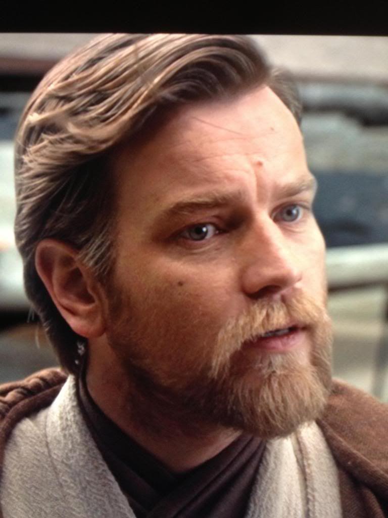 Obi Wan Kenobi Episode 3 Hair Google Search Star Wars Obi Wan