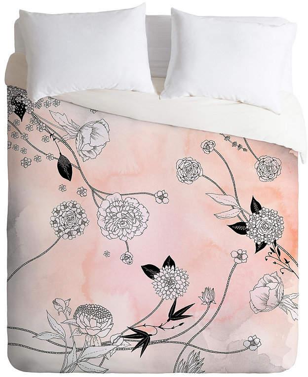 Deny Designs Iveta Abolina Coral Dust Twin Duvet Set Bedding Duvet Sets Duvet Boutique Bedding