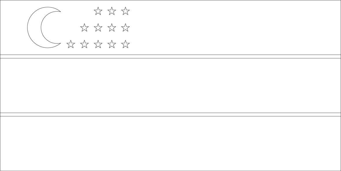 Uzbekistan flag coloring page :: Sonlight, Core C, Window on the ...