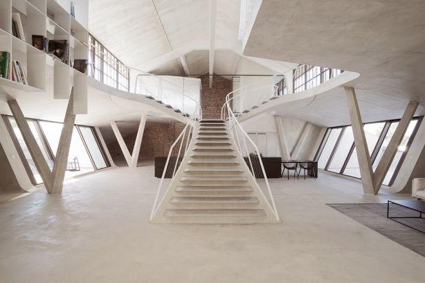 Loft Panzerhalle | Salzburg | Austria | Residential Interiors 2016 | WIN Awards