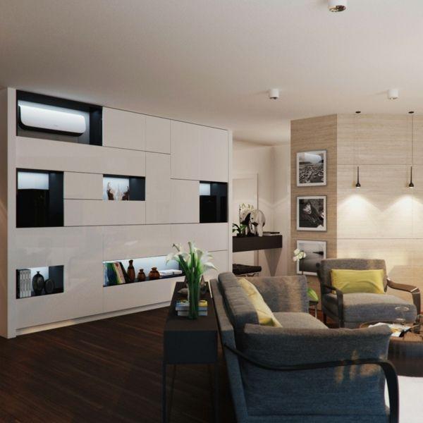 Salon Moderne Design En Idées Par Alexandra Fedorova - Meubles de salon moderne