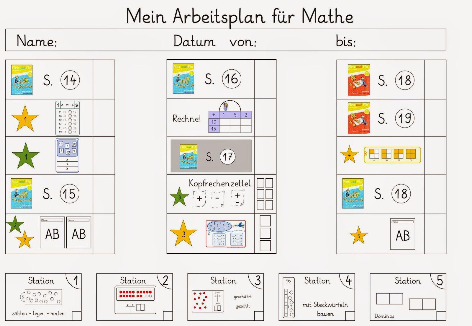 Wieder Mal Ein Arbeitsplan Fur Mathe Arbeitsplaner Mathe Planer