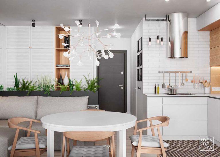 Tante idee per arredare una casa piccola in stile scandinavo