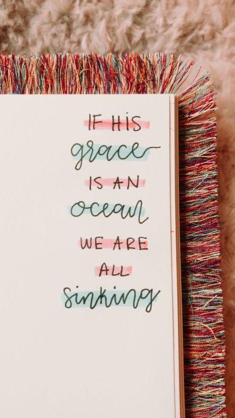 Wenn Seine Gnade ein Ozean ist