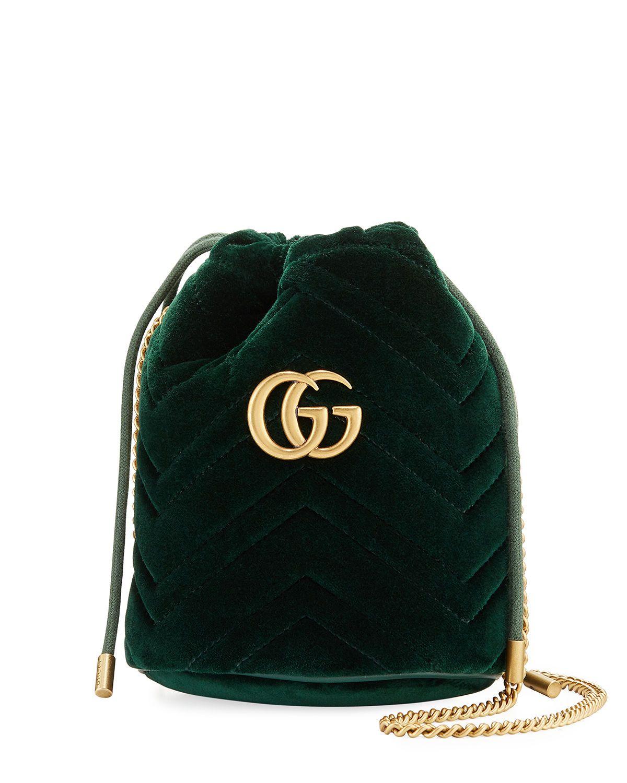GUCCI GG MARMONT MINI BUCKET BAG bags