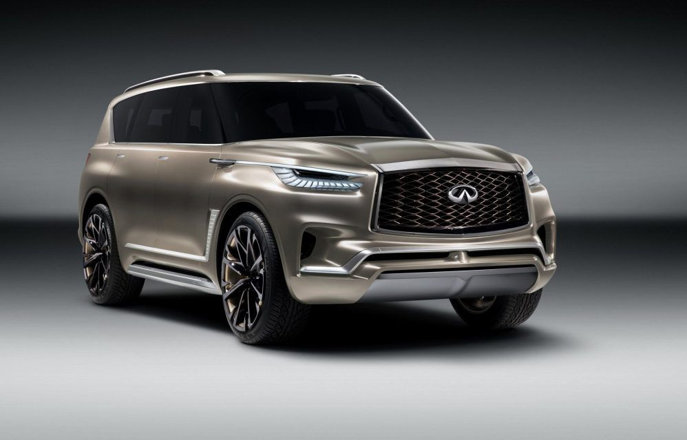 The New Monograph Principle Will Underpin The New 2020 Infiniti Qx80 The Huge Suv Is Getting A New Generation And Fresh A New Infiniti Infinity Suv Luxury Suv
