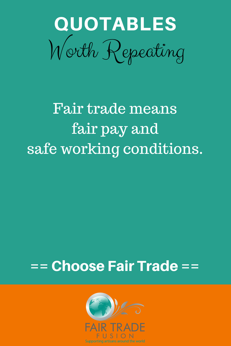 the most simple definition. #fairtrade | quotes | pinterest | fair