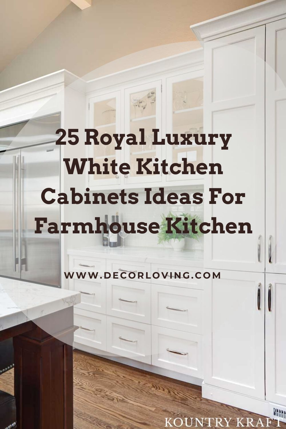 25 Royal Luxury White Kitchen Cabinets Ideas For Farmhouse Kitchen In 2020 Kitchen Cabinets White Kitchen Cabinets White Kitchen