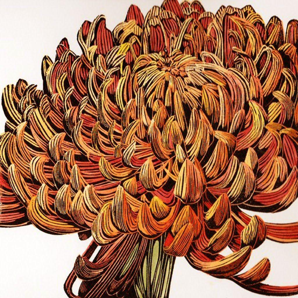 BFC1350 Botanical Fruit Woodcuts Quilt Blocks  |Botanical Woodcut