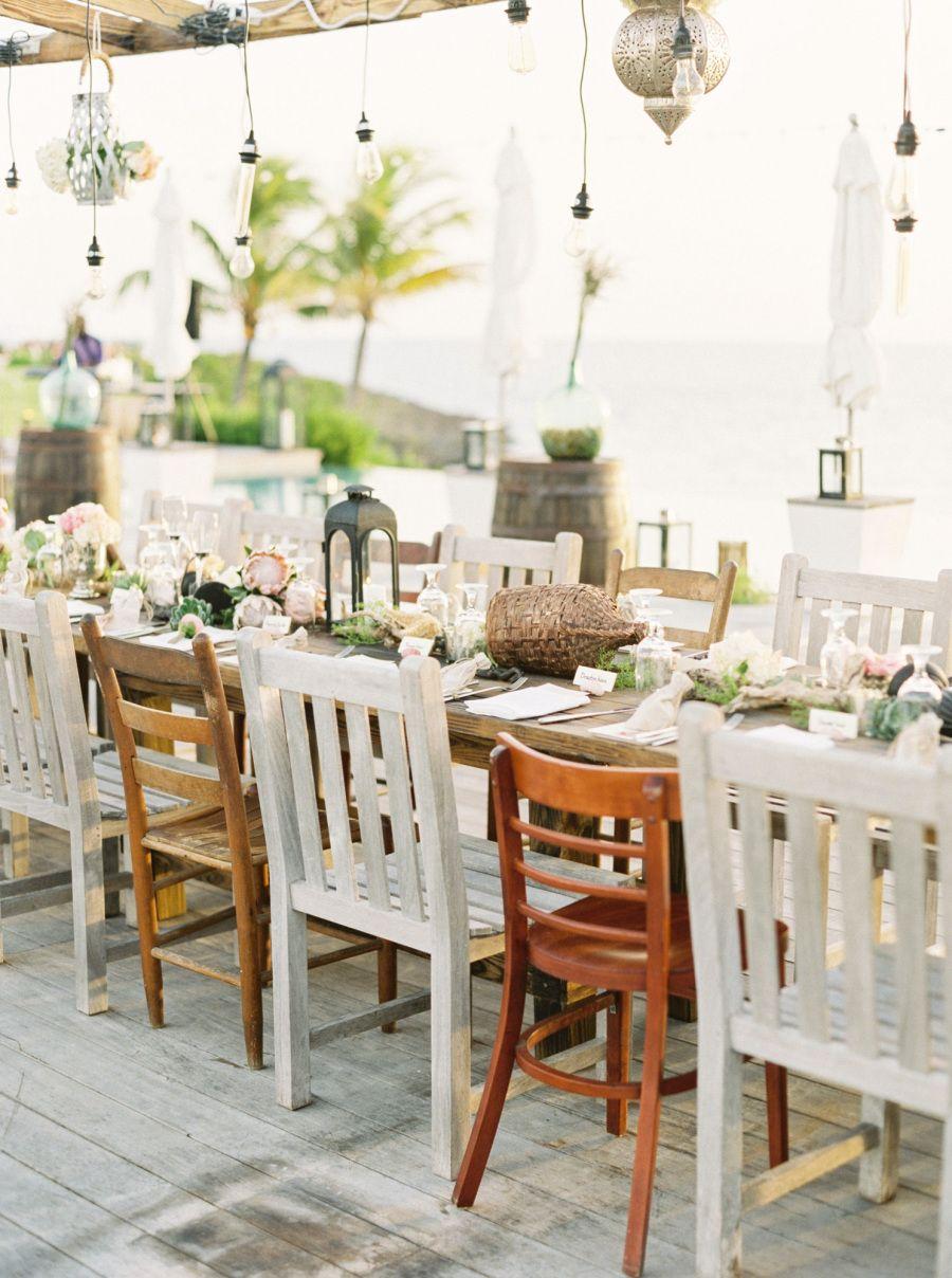 Relaxed beach wedding  Romantic  Relaxed ShipwreckThemed Bahamas Destination Wedding
