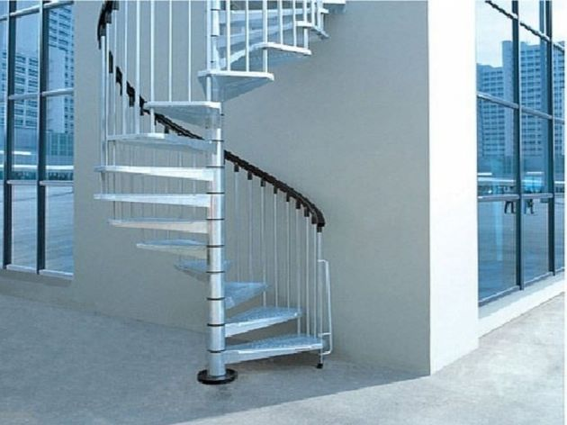 Best Spiral Staircases Exterior Spiral Staircase Kits 400 x 300