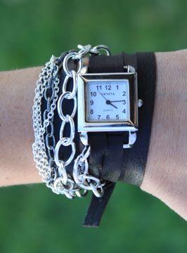 Mile High Momday Diy Wrap Watch Diy Watch Band Diy Leather