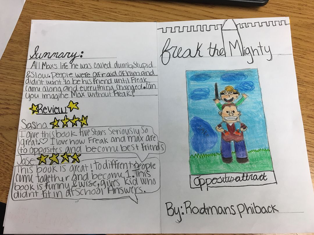 We Finished Reading Freak The Mighty One Of My Faves