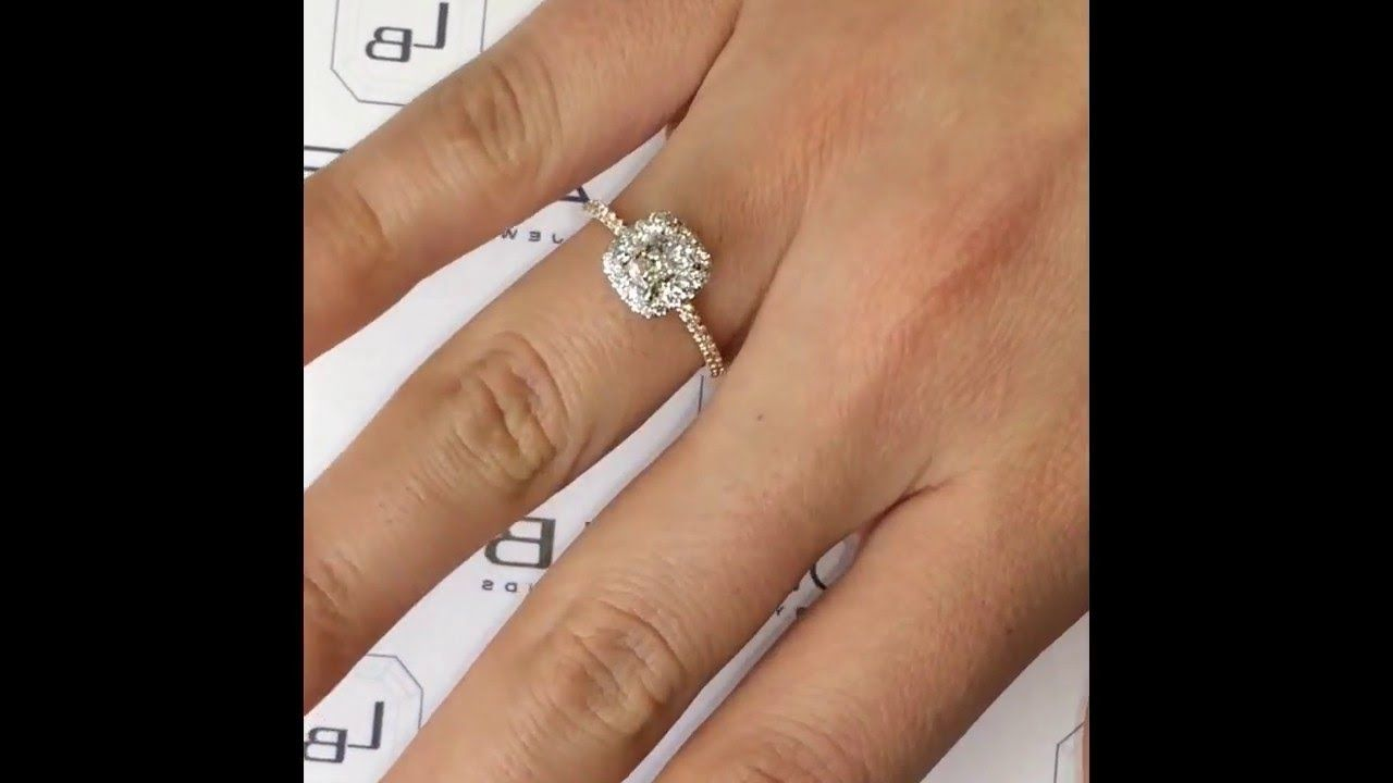 1 2 Carat Cushion Cut Diamond Ring  8a2087ccc47e