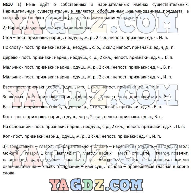 Скачать бесплатно решебник по 3классу русскому языку