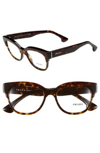 61d5d4c8cb2 Free shipping and returns on Prada 51mm Optical Glasses (Online Only) at  Nordstrom.com. A retro-chic profile defines polished Italian optical frames  ...