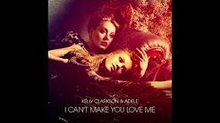 I Can T Make You Love Me Adele Youtube Poster