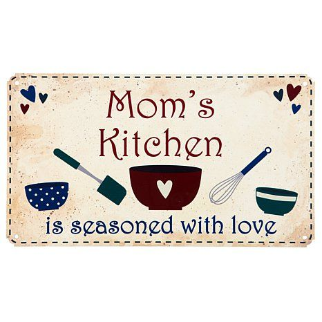 Personal Creations Country Kitchen Metal Sign