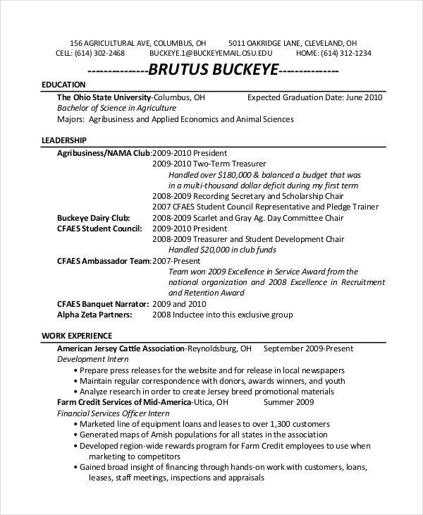 Sample Resume Zookeeper Resume Examples Pinterest Resume