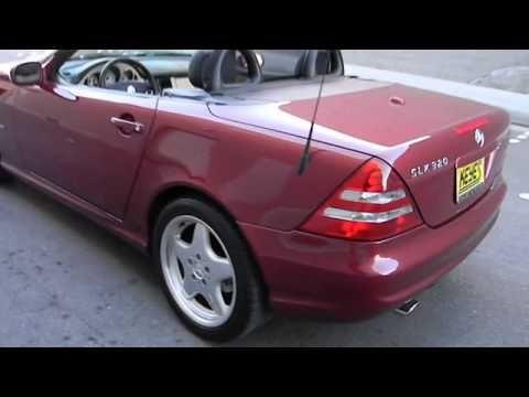 2001 Mercedes-Benz SLK320 - Coupe Los Angeles Van Nuys Santa Monica Beverly Hills Burbank