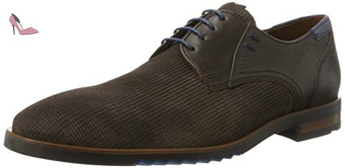 Chaussures Derby Homme - Noir - Noir (Schwarz 0), 42 EULloyd