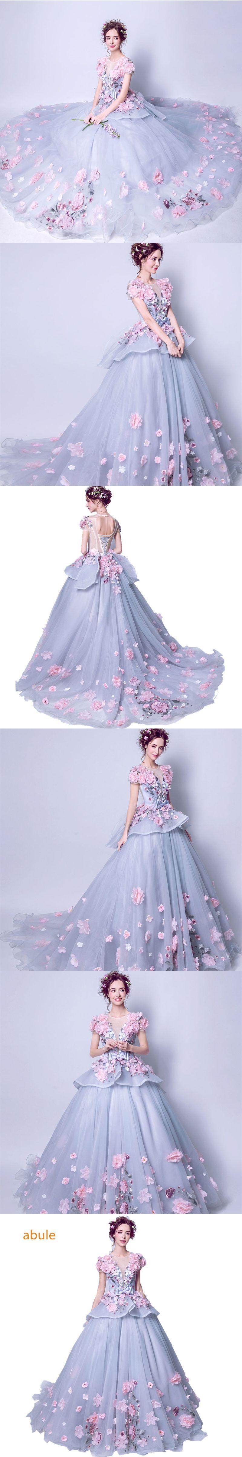 Abule vneck wedding dress sheer turkey luxury princess dubai