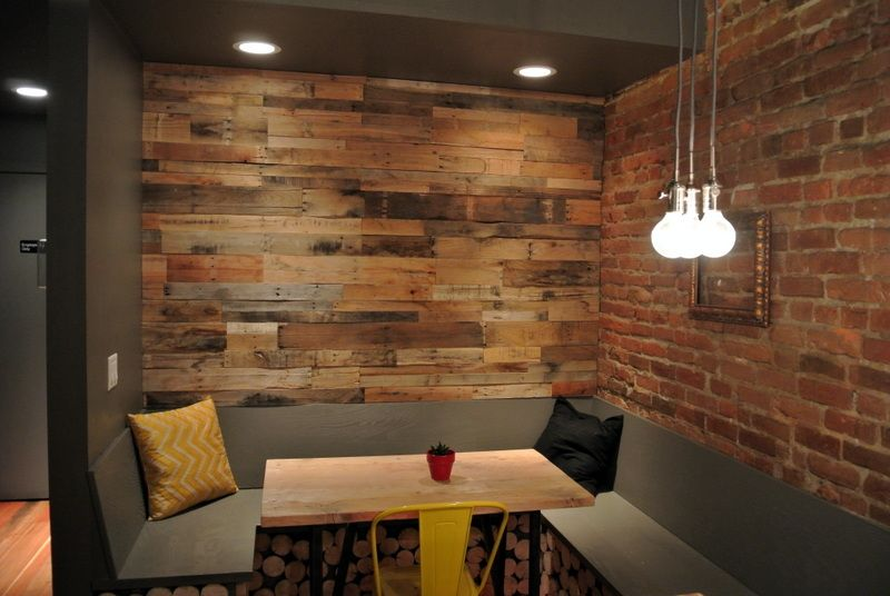 Pallet+Wood+Wainscotting | pallet wood wall paneling - Pallet+Wood+Wainscotting Pallet Wood Wall Paneling Mobile Home