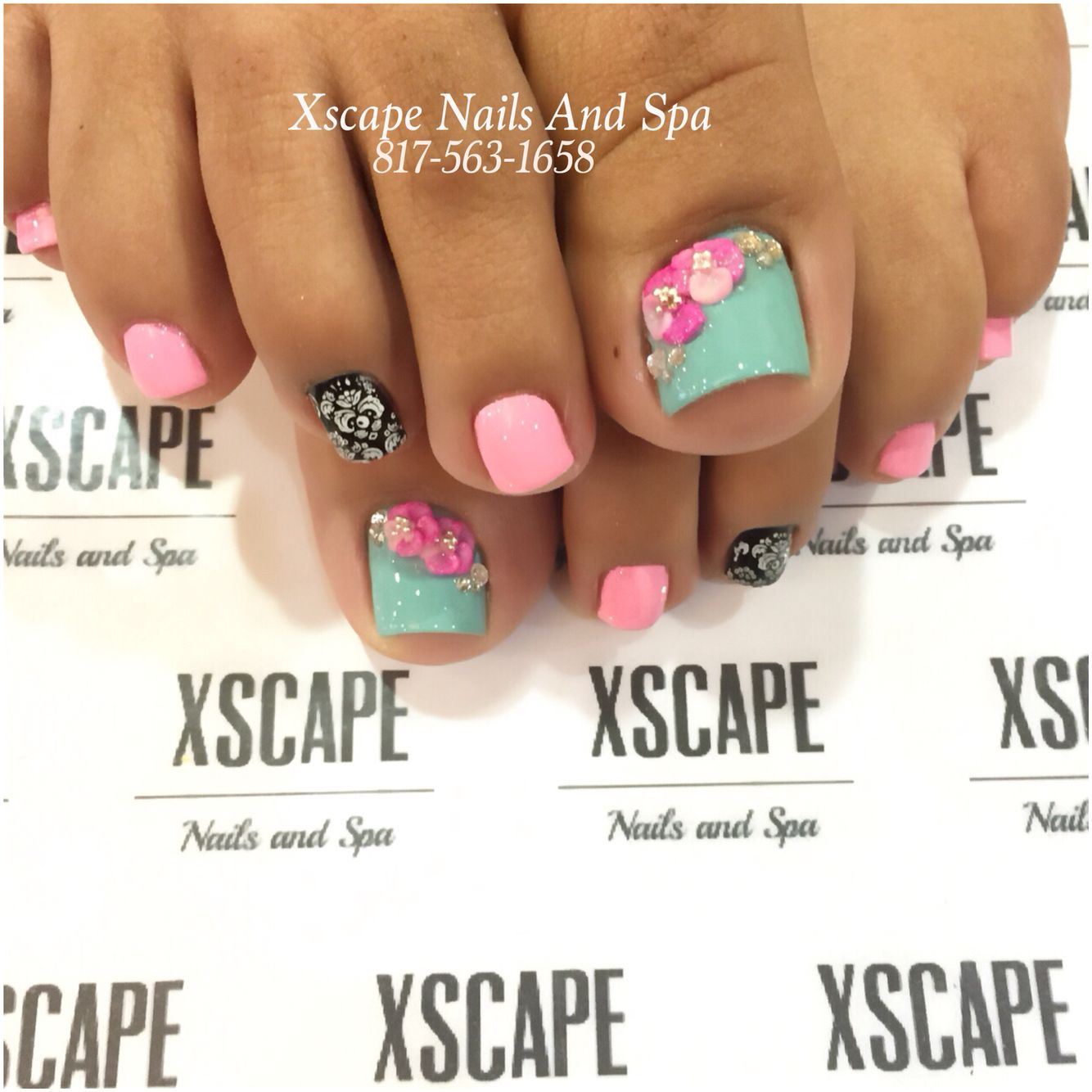 To acquire DIY Art: Nail Pretty Spring Pedicures pictures trends