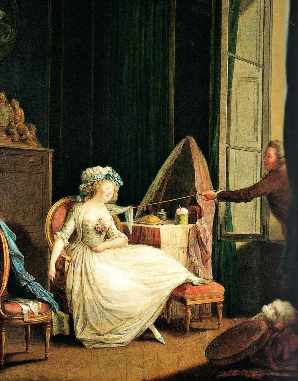 Nicolas Lavreince (1737-1807) - Frivolous love