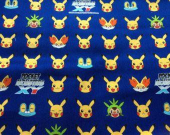 pokemon fabric – Etsy CA