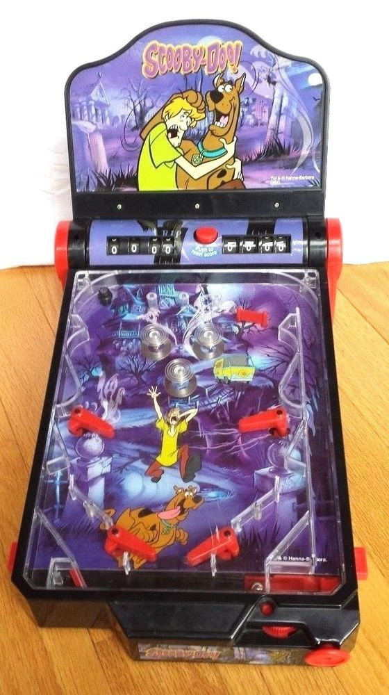 c0a10ca58 Scooby Doo Electronic PINBALL MACHINE Arcade toy game electric Shaggy  #HIPPIE
