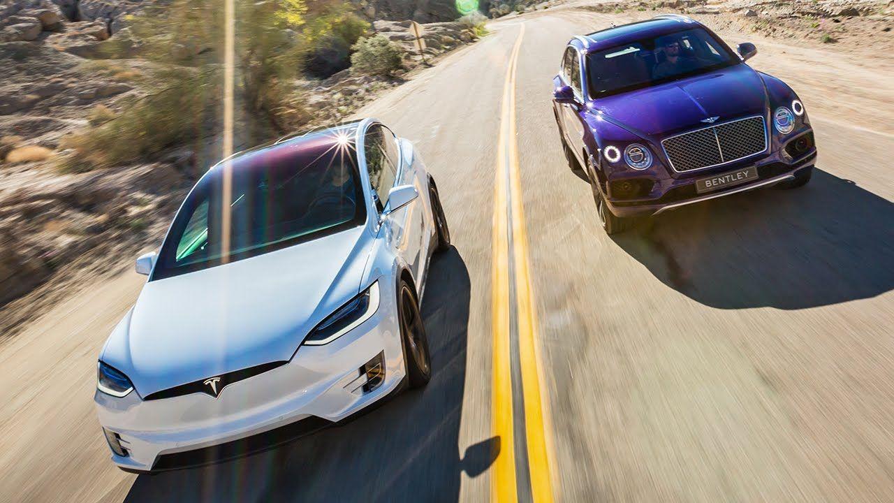2017 Bentley Bentayga vs. 2016 Tesla Model X P90D