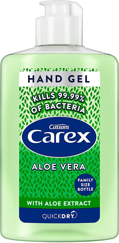 15+ Carex Aloe Vera Hand Sanitising Gel 50ml