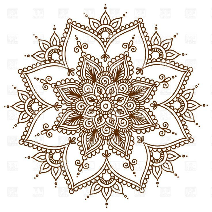 How to Care for a New Color Tattoo | Mandala, Vector clipart and Tattoo